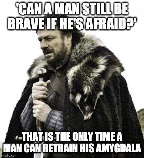 Ned Stark on Fear